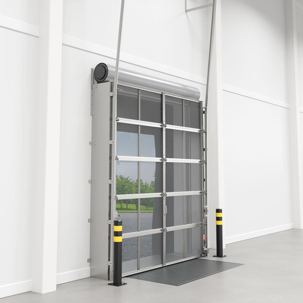 Bug Blocker - Behind Rolling Vertical Lift