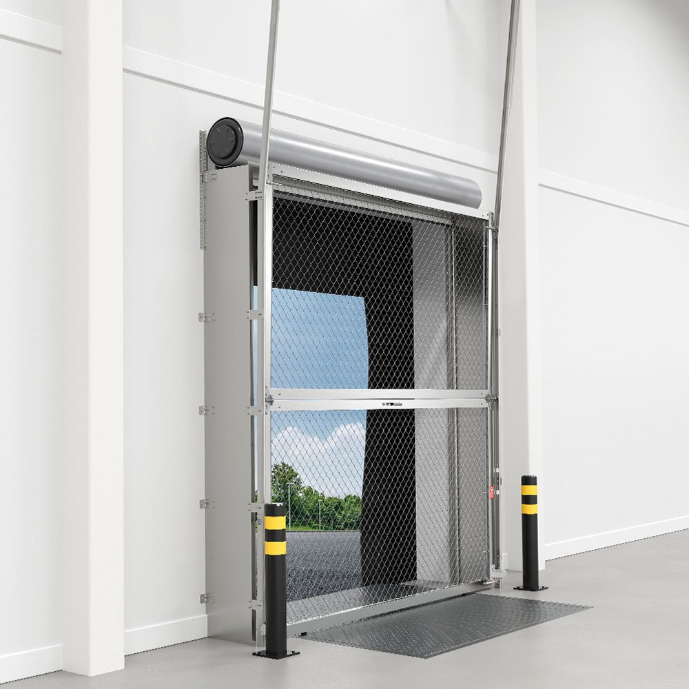 Security Link - Behind Rolling Vertical Lift
