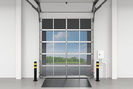 The Bug Blocker Loading Dock Screen Door